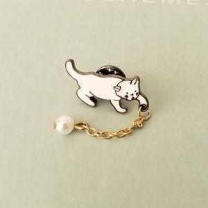 {5/$25} playing kitten enamel pin